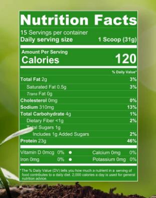 Nutrakey Banana Nut Vegan V pro 1.02 LB