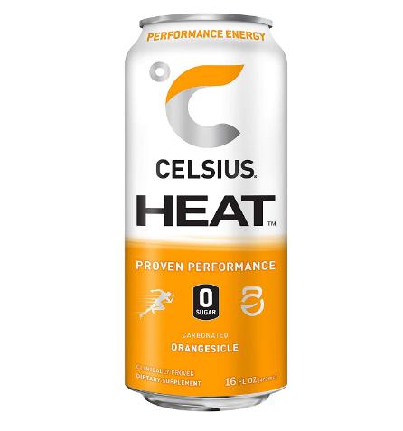Celsius HEAT Orangesickle 16oz