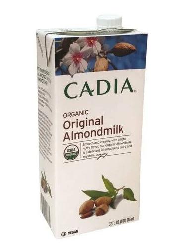 Cadia Organic Almond Milk, Original 32oz