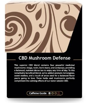 Buddha Teas Mushroom CBD