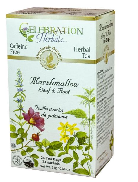 Celebration Herbals Marshmallow Leaf & Root Tea