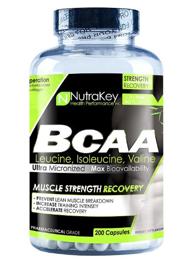 Nutrakey BCAA 200 caps