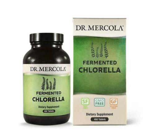 Dr.Mercola Fermented Chlorella 450 Tablets