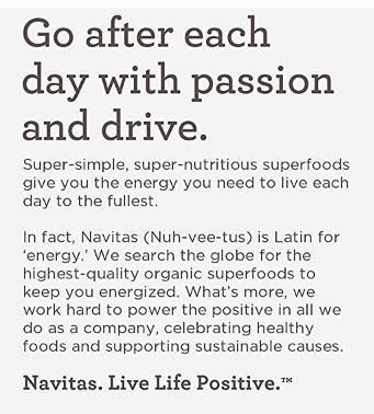 Navitas Organic Hemp Seeds 8oz