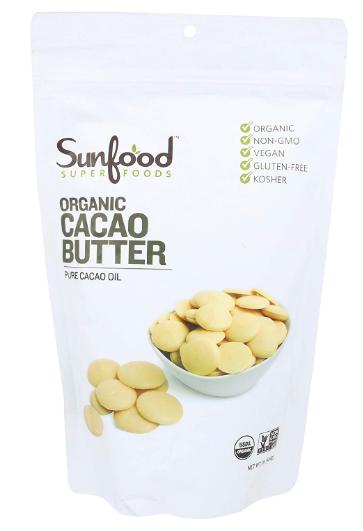Sunfood Cacao butter 1lb