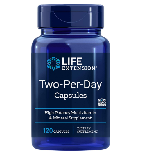 Life Extension Two per Day 120 caps