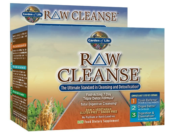 Garden of Life Raw Cleanse 3 Step Kit