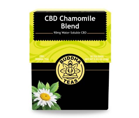 Buddha Teas, CBD Chamomile Tea