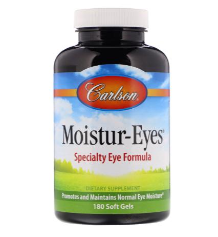 Carlson Moistur-Eyes Specialty Eye Formula 180 Softgels