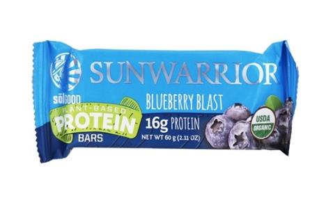 Sunwarrior Blueberry Bar