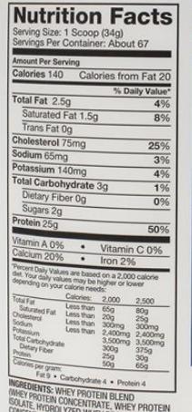 Dymatize Elite Whey Protein Powder, Gourmet Vanilla 5 LB