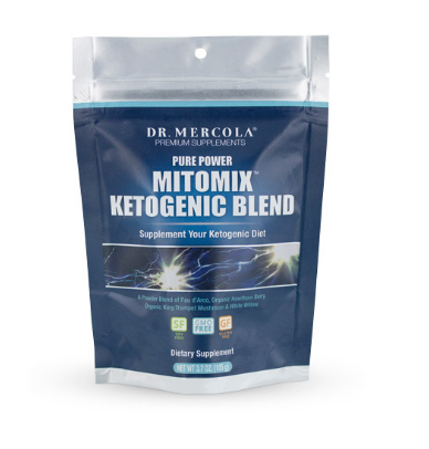 Dr. Mercola Pure Power Mitomix Ketogenic Blend 3.7 oz