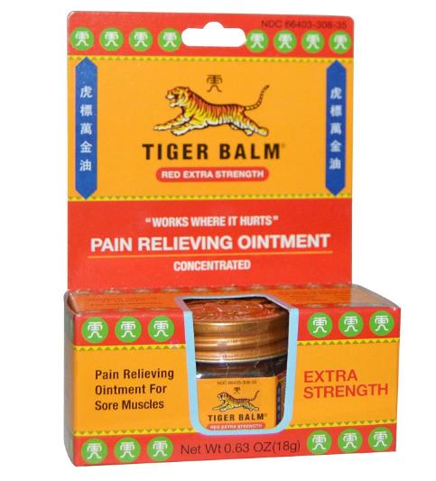 Tiger Balm Red X Strength 0.63 oz