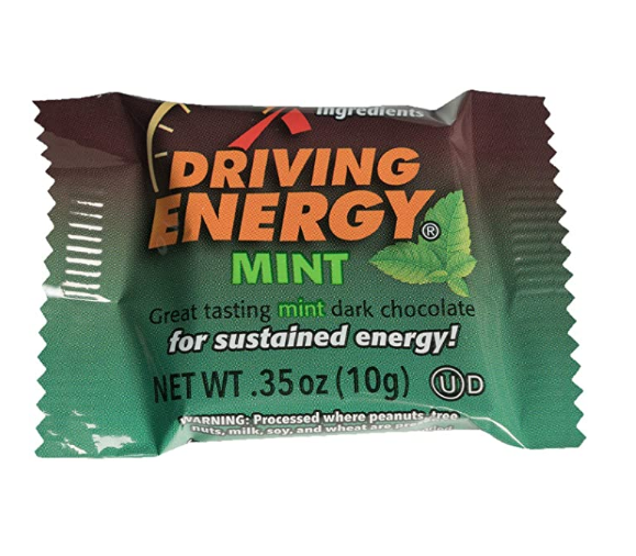Zenevo Driving Energy Mint Chocolate Squares