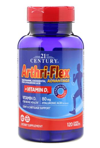 Arthri-Flex Advantage + Vitamin D3 Flexibility Support 120 Tablets