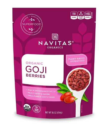 Navitas Organic Goji Berries 16 oz