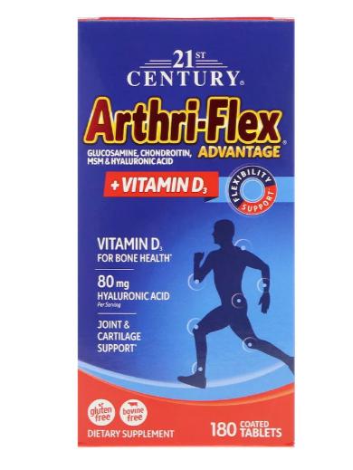 Arthri-Flex Advantage + Vitamin D3 Flexibility Support 180 Tablets