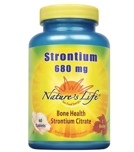 Nature's Life Strontium 680 mg 60 tb