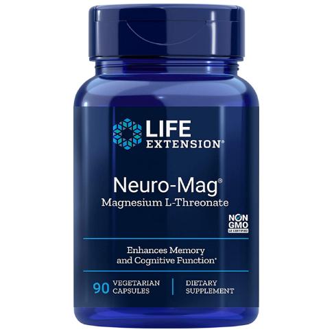 Life Extension Neuro-Mag 90cap