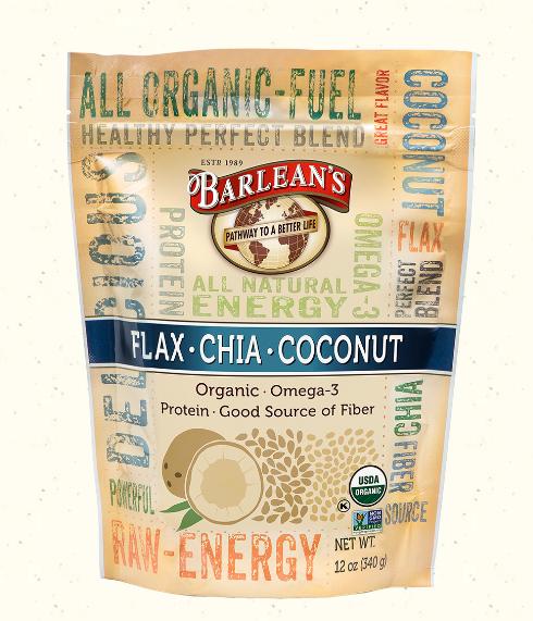 Barlean's Flax Chia Coconut Blend 12oz