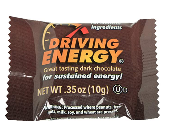 Zenevo Driving Energy Dark Chocolate