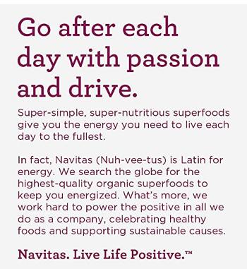 Navitas Organic Goji Berries 4oz