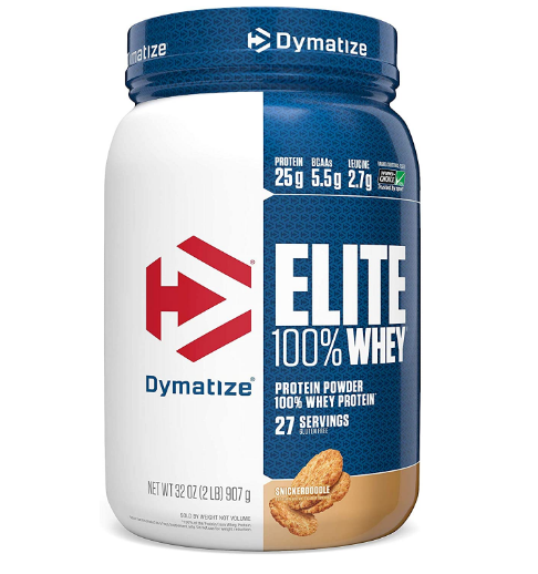 Dymatize Elite Whey Protein Powder, Snickerdoodle 2LB