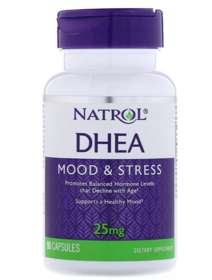 Natrol DHEA 25mg 90 Capsules