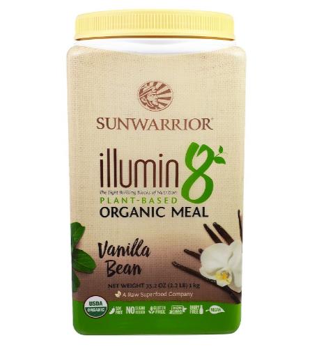 Sunwarrior Ilumin8 Vanilla 2.2 Lb