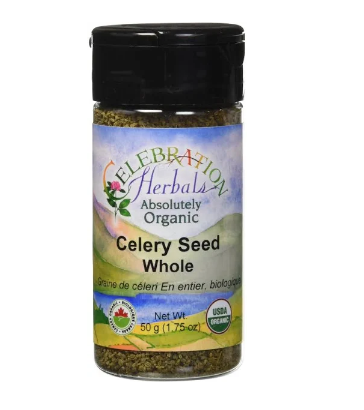 Celebration Herbals Organic Celery Seed Whole