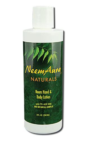 Neem Aura Hand & Body Lotion 8 oz