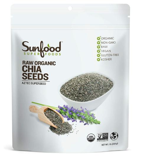 Sunfood Chia Seeds 1lb
