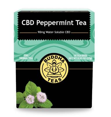 Buddha Teas, CBD Mint Tea