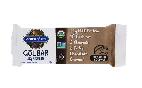 Garden of Life GOL Bar, Chocolate Coconut