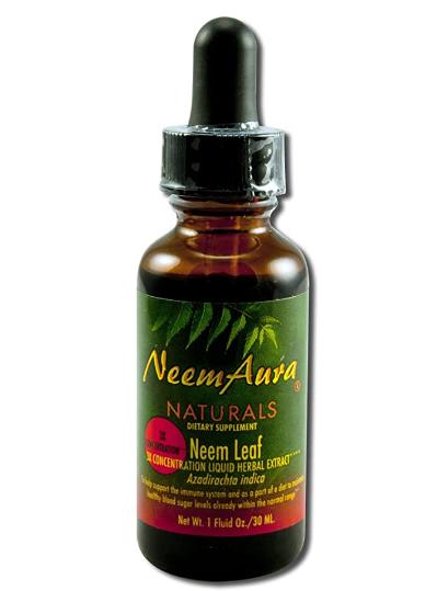 Neem Aura Neem Leaf 3X 1oz