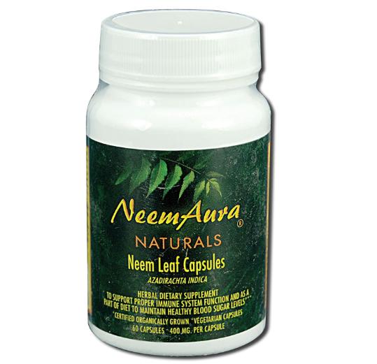 Neem Aura Neem Leaf 60 Capsules