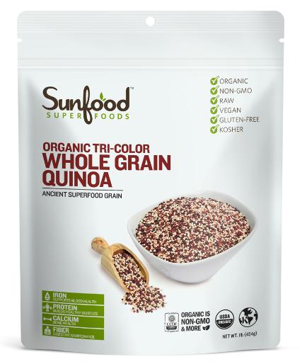 Sunfood Organic Whole Grain Quinoa