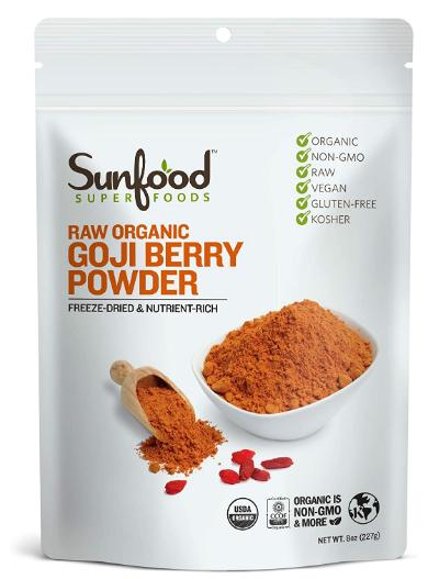 Sunfood Goji Berry Powder 8oz.