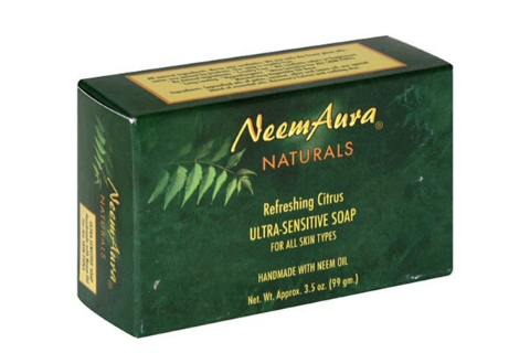 Neem Aura Soap Bar Refreshing Citrus