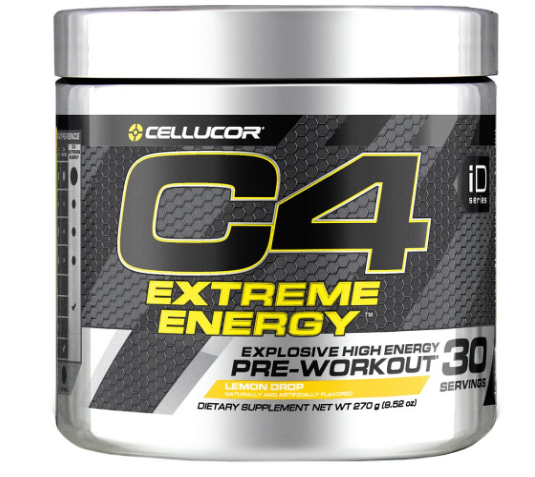 C4 Extreme Energy Lemon Drop 30 Servings