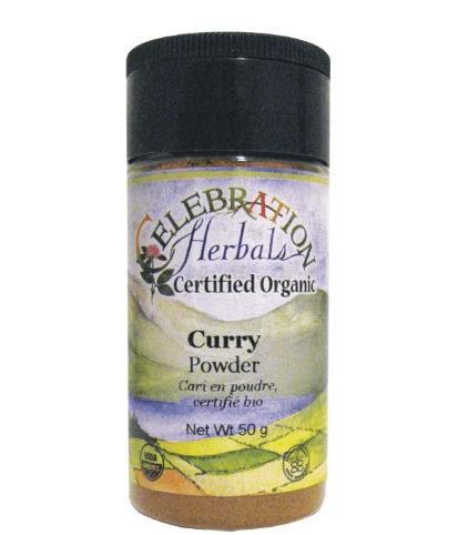 Celebration Herbals Organic Curry Powder