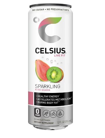 Celsius Sparking Kiwi Guava 12oz