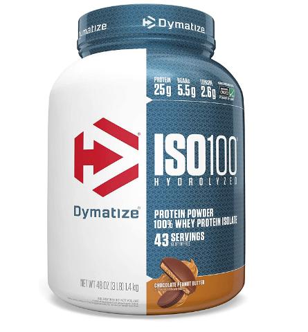 Dymatize ISO 100 Chocolate Peanut Butter 3 Lbs