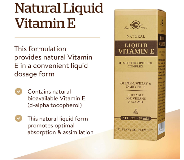 Solgar Liquid Vitamin E 2oz
