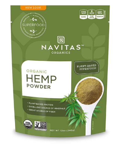 Navitas Organic Hemp Powder 12oz