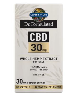 Garden of Life Dr. Formulated CBD 30mg 30 Softgels
