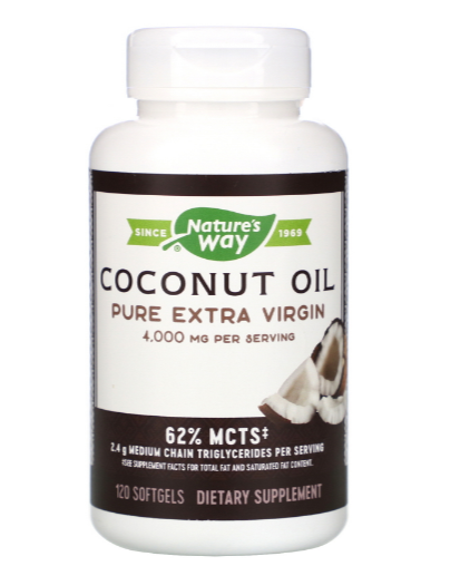 Nature's Way Coconut  Oil 4000mg
