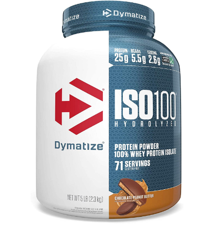 Dymatize ISO 100 Chocolate Peanut Butter 5 Lbs