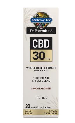 Garden of Life Dr. Formulated CBD 30mg Chocolate Mint 1oz