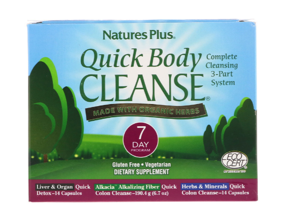 Nature's Plus Quick Body Cleanse 7 Day Program